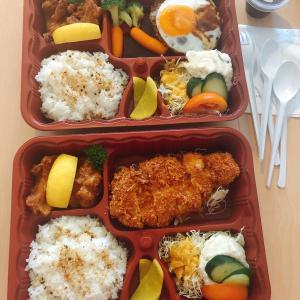 シンガポール在住の日本人にはおなじみのマメゾンでお弁当を買う。