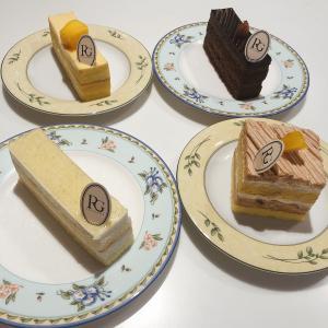 ローカルのケーキ屋さんのケーキで楽しいおうち時間【Rive Gauche】
