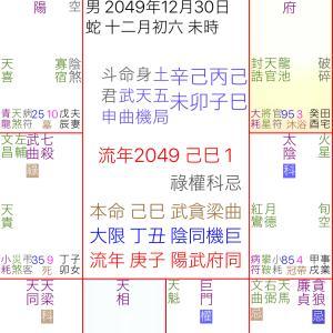 紫微斗数アメブロナンバー1記事