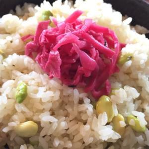 【夏の香りを凝縮】枝豆で豆ご飯