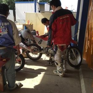 【バイクレース】 HSR九州 職場の集まりでモトクロスレース