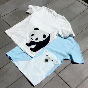 【購入レビュー】無印良品の絶滅危惧種プリントTシャツ【大人用も】