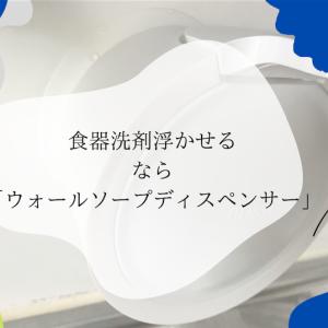 食器洗剤は吸盤容器で浮かせる!ウォールソープディスペンサーが神すぎ!