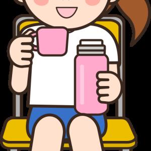 サーモス ミニーちゃんの真空断熱スポーツボトル