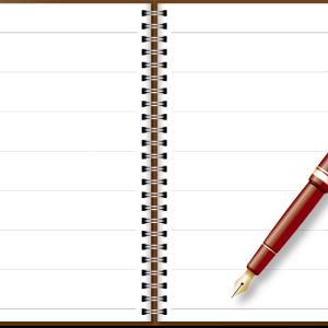 ノート日記からweb日記へ。そしてブログへ。
