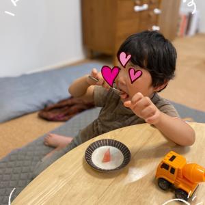 美容院へ&自閉症の息子は寝ている時にママがカット
