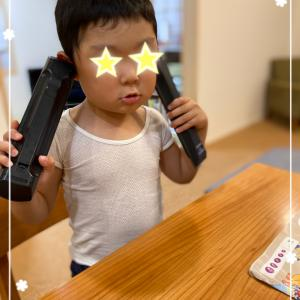 土日の児発の活動に集中する自閉症の息子