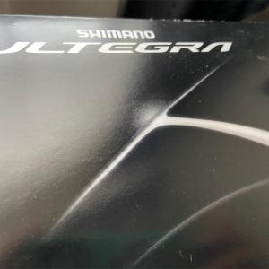 アルテグラのブレーキが届きました!