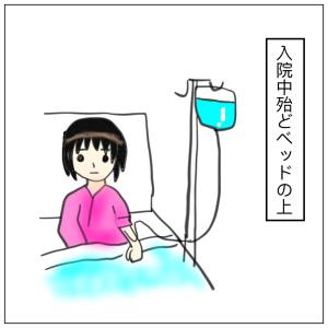 つわり(妊娠悪阻)で第1回目の入院②〜入院生活