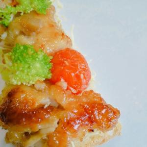 【油淋鶏】トースト