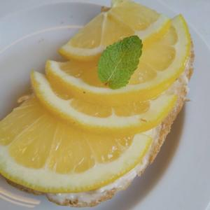 【クリームチーズ+レモン】トースト