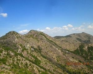 低山ハイキング with ハンディー機