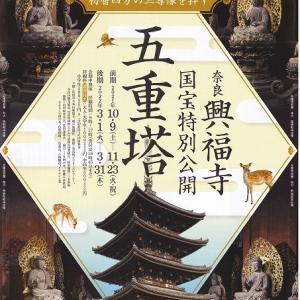 奈良 興福寺「五重塔 特別公開」に行ってきた