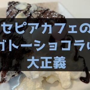 【町田/SEPIA CAFE】セピアカフェのガトーショコラは大正義