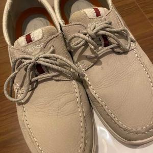 疲れた日に靴を減らしてみる。