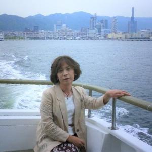 気まぐれカット (74) ひとみさんと神戸港クルーズ5月
