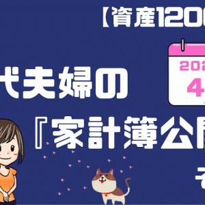 【資産1200万円】20代夫婦の家計簿公開!!(2021年4月)その①
