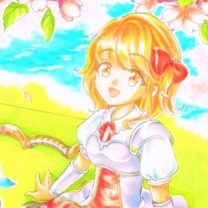【桜が似合う内気な弓使いちゃん】第133回 : ませおつキャラぴよっこ編!その6『シリューテ』