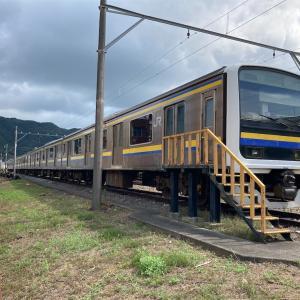伊豆急下田駅留置中の209系(写真7枚)