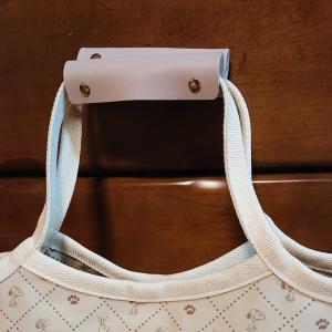 セリアの、バッグの持ち手カバー(ハンドルカバー)😃