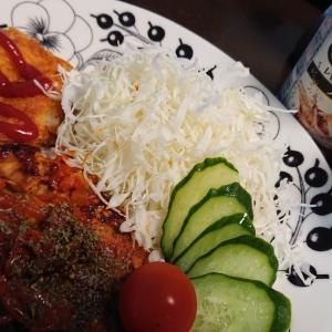 「豆腐とオートミールのハンバーグ」と、ダイエット~137日目~
