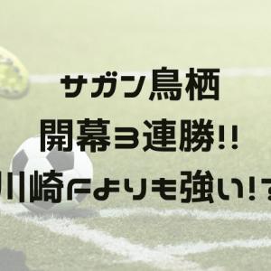 【サガン鳥栖】J1で初の開幕3連勝おめでとう!その強さの秘密とは?