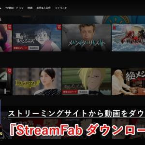 Netflixなどストリーミングサイトの動画データを保存可能!『StreamFab ダウンローダー』紹介
