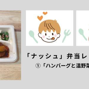 「NOSH(ナッシュ)」ジューシーなハンバーグと温野菜のデミを食べてみました!