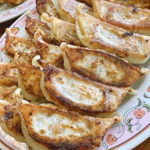 【餃子の王将】チューリップが美味い「餃子トリプル」