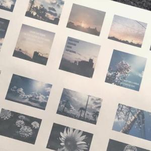 手帳に貼れるサイズの写真販売