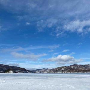 2021桧原湖氷上