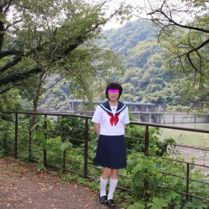 城山ダムの風景と