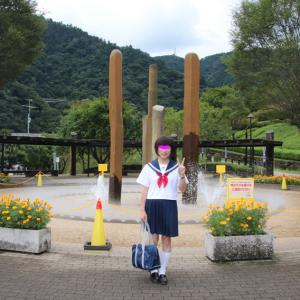 宮ケ瀬ダムの風景と一緒に その1