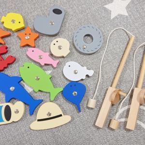【100均】キャンドゥの木製釣りおもちゃシリーズが大人気で品薄に!100均とは思えない高クオリティ