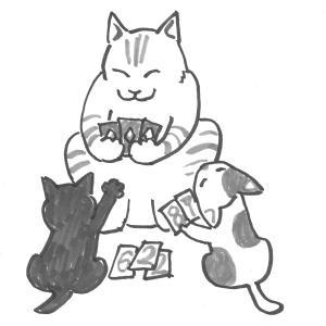 面倒見のいいボス猫