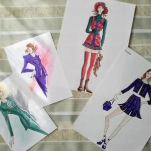 バイオグラフィーワーク(2)8ー14歳~d夢はファッションデザイナー