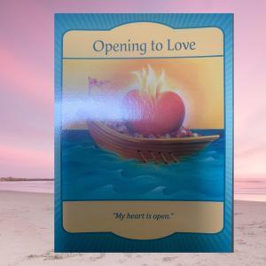 今日のメッセージ「心を開く」