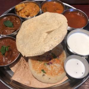 南インド料理 ミールス