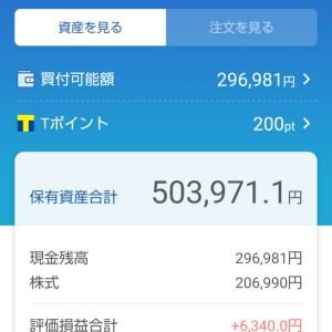 わたしの日本株ポートフォリオ(2021.5.7)