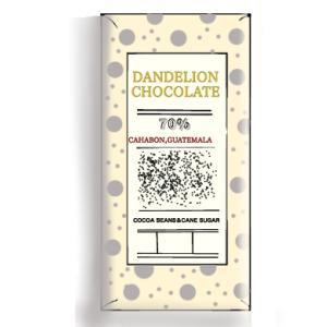 【ダンデライオン・チョコレート】カアボン,グアテマラ70%