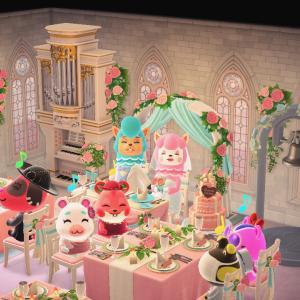 結婚披露宴に出席しました。
