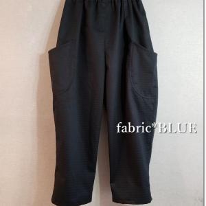 YUWA斜めドビー織りコットンでバルーンパンツ