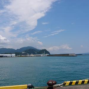 富士山の見える漁港