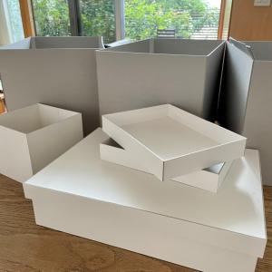 BOXまみれでオーダー製作中