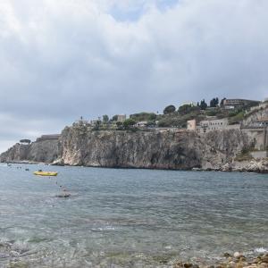 2017年イタリア・シチリア島旅行記 第43回 タオルミーナのビーチを散策し、帰国へ