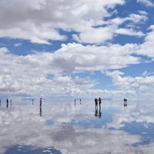 2018年ペルー・ボリビア旅行記 第35回 ウユニ塩湖探訪その3 ウユニ塩湖内に佇むホテル跡へ