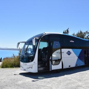 2018年 ニュージーランド旅行記 第25回 バスに乗ってテカポ湖、さらには絶景のマウント・クックへ