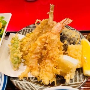 「天一」で揚げたて天ぷらランチを