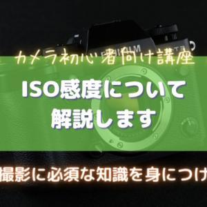 ISO感度とは|明るさの変化・ノイズ量・シーン別ISO感度を解説!|カメラ初心者向け