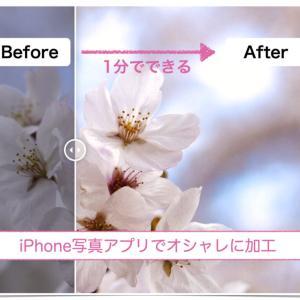 iPhone写真アプリで桜をオシャレに加工してみよう!【方法解説】